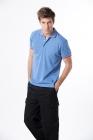 吸濕快排POLO衫 (男) 藍色