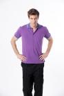 吸濕快排POLO衫 (男) 紫色