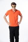 吸濕快排POLO衫 (男) 橘色