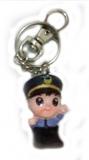 警察鑰匙圈