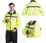 雙面穿防寒夾克 螢光黃 XS-5L