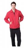 紅色單面穿薄外套